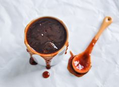 Homemade coffee BBQ sauce from Tasty Kitchen Sauce Recipes, Cooking Recipes, Yummy Recipes, Hummus, Barbecue Sauce, Bbq Sauces, Tasty Kitchen, Coffee Tasting, Risotto