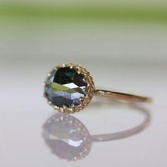 Roberto Marroni Womens Brown Ice Diamond Sand Ring Colorless Wedding Jewellery