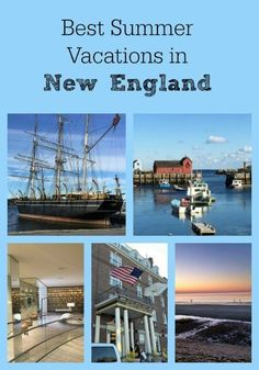 We've put together the best spots to visit and attractions to see in New England on your next summer vacation with your family. #TravelDestinationsUsaNortheast