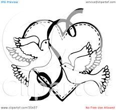 Bildergebnis für Vector - Wedding card with two hearts