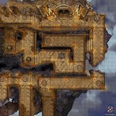 Fantasy Town, Fantasy Map, Fantasy Battle, Battle City, Building Map, Dungeon Maps, Dungeon Tiles, Map Pictures, Map Design