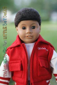 American Girl Doll Boy at http://www.etsy.com/listing/157530943/malcolm-custom-boy-doll-upcycled-from