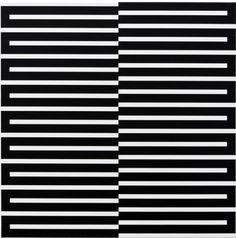 "rerylikes:  "" Vera Molnar. Contrepoint (positif), 2010. Acrylique sur toile, 50 x 50 cm  more vera molnar  """