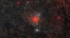 The HR5171A star, a Yellow Hyper with a diameter of more than 1300 times the sun has been observed the VLT telescope array in Chile. March 12, 2014.