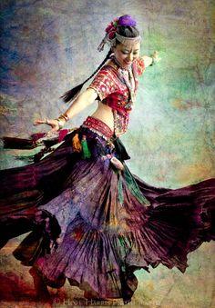 Tribal Dancebelly dance movement joy twirl happiness door hopeimages
