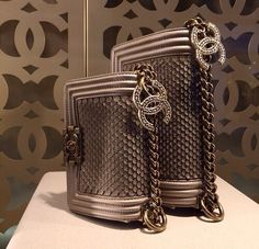 """If you would like to see more Chanel bags check out """"Chanel bags"""" one of our boards.  Thanks,"""