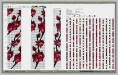 Beaded Crochet Rope - Roses - 2