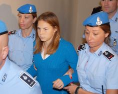 The latest post on my blog is a look at the Amanda Knox case: Did she do it??