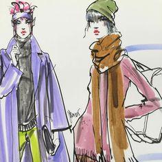 Fashion Art JDenaro style#jdenaroart#fashiongram#modernstyle#illustration#newschool#fashionsketch#markersketch