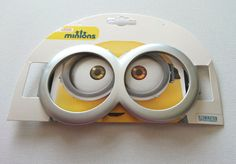 Minions fun #glasses costume frames #freshers kids fancy #dress silver plastic gi,  View more on the LINK: http://www.zeppy.io/product/gb/2/282323588466/