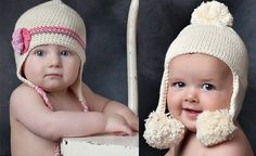 Patrón standard para gorros de niños a crochet