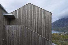 Weathered and Silvered Timber Cladding of Vega Cottage by Kolman Boye Architects