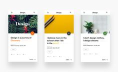 Dribbble Ui design by divan raj. - My Original Ideas Web Mobile, Mobile Web Design, App Ui Design, User Interface Design, Design Design, Flat Design, Design Trends, Mobile Ui Patterns, Card Ui