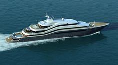 The Luxurious Quasar 88 Mega Yacht