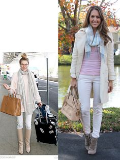 pastels for cold weather? why not @J's everyday fashion