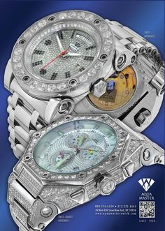 Aqua Master Watch Company was founded in the year 1999 by Family of diamond jewelers . Aqua Master has always had a passion for diamond and watches and decided to create several watches themselves with a creative fashionable look.
