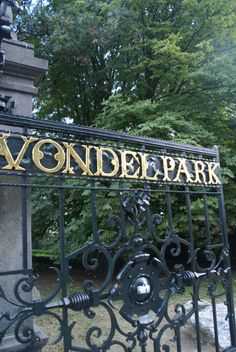 Amsterdam park of my Opa! He took me on the tram to enjoy this wonderful park! Amsterdam City, Amsterdam Netherlands, Places To Travel, Places To Visit, Going Dutch, Dutch Golden Age, Beautiful Places, Europe, Park