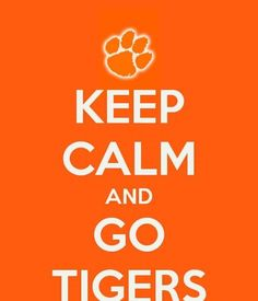Always support the tigers! No matter what :)