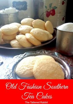 Old Fashioned Tea Cakes are a traditional Southern cookie that has been around… Marshmallows, Cookie Recipes, Tea Cake Cookie Recipe, Old Fashioned Sugar Cookie Recipe, Tea Cake Cookies, Cookie Desserts, Cookie Ideas, Brownie Cookies, Yummy Cookies
