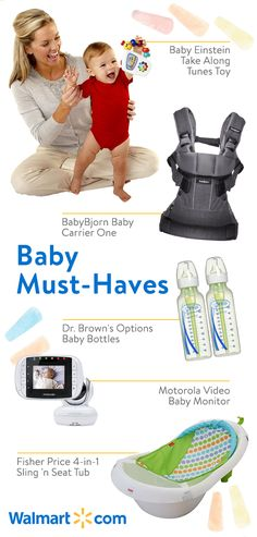 Find nothing but the best for baby with quality baby and toddler essentials from Walmart. Discover great deals on new favorites like the Baby Einstein Take Along Tunes Toy, BabyBjorn Baby Carrier One, Dr. Best Baby Carrier, Baby Wrap Carrier, Baby Bjorn, Babies R, Baby Must Haves, Baby Monitor, Everything Baby, Baby Bottles, First Baby