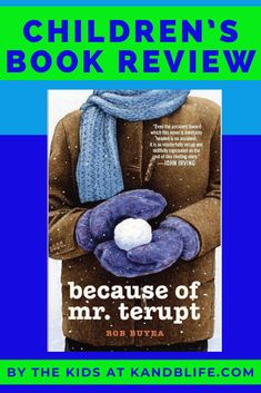 A candid review by the kids at K and B Life! You not only get a brief summary but they let you know who it's good for. Is it a good fit for you, your students, or kids? Read this children's review to find out. Happy Reading! Happy Reading, Kids Reading, Because Of Mr Terupt, John Irving, Book Reviews For Kids, Positive Messages, Love Book, Great Books, Summary