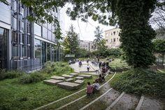 2013, photo by Luc Boegly - The Fondation Cartier's Garden Lothar Baumgarten's Theatrum Botanicum