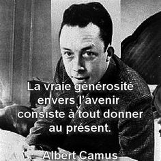 Despite having to write tooooo many L'Etranger essays, I actually love Camus!