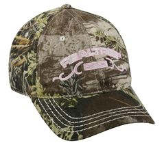 1556a97fdc5 Realtree Max 1 Camo   Pink Deer Turkey Hunting Hat Cap FAST SHIP