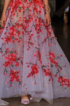 Georges Hobeika, fashion, 2017, femininity, jewelry, embroidery