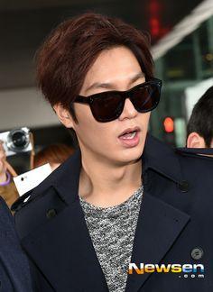 Lee Min Ho new hair style
