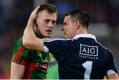 8 Photos That Show There Were No Hard Feelings Between Dublin And Mayo At The Final Whistle Dublin, Finals, Baseball Cards, Feelings, Sports, Hs Sports, Sport, Final Exams