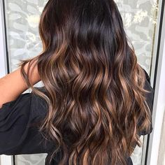 Rich Brunette with shiny sunkisses. Color by @hairby_gabbs  #hair #hairenvy #hairstyles #haircolor #brunette #balayage #highlights #newandnow #inspiration #maneinterest