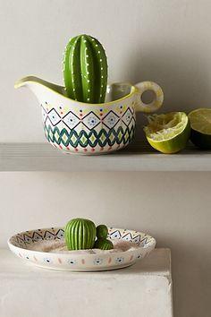Um cactus lime JUICER - need it! Sun Palette Barware  #anthropologie