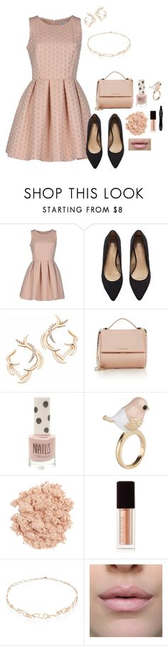 """Read for the trip?"" by roney121 ❤ liked on Polyvore featuring HOPPER, H&M, Sho, Givenchy, Topshop, ALDO, Illamasqua, Kevyn Aucoin, Diane Kordas and Lancôme"