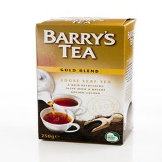 Barry's Tea, Gold Blend, Loose Leaf Tea, 250 g - iHerb Irish Tea, Types Of Tea, Tea Gifts, Brewing Tea, Irish Recipes, Perfect Cup, Tea Blends, Loose Leaf Tea
