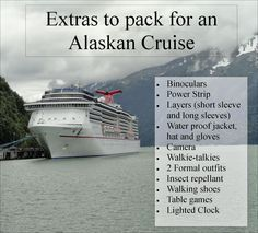 Alaska cruise, what to pack for a cruise, games for a cruise, Alaska excursions, Alaska, Cruise, Carnival, Carnival Miracle, Bucket List