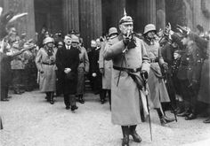 Paul Von Hindenburg and Adolf Hitler, 1933
