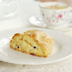 Buttermilk makes these Cranberry-Orange scones perfectly moist and flaky