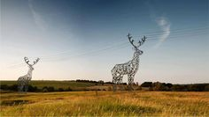 L'extraordinaire concept de tours électriques en forme de cerf