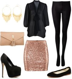 Party / Girl\s Night out / Date Night Outfit (also for Plus Size Girls) by natihasi on Polyvore
