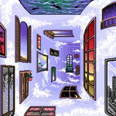 Project 2- 16 bit video game style design inspiration