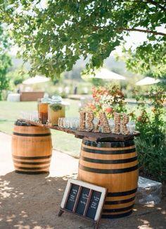 Barrels & cork