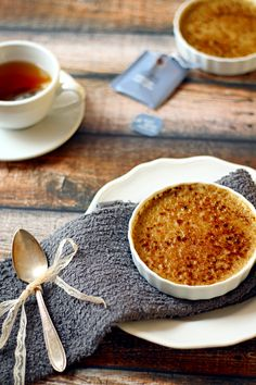 Earl Grey Creme Brulee - instructions for using blow torch, or your oven's broiler! | from The Wanderlust Kitchen