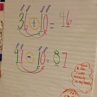 building number sense in place value. Using common core standards.