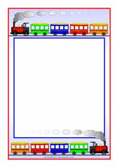 Train Themed Page Borders Free Birthday Clipart, Thanksgiving Clipart Images, Happy Birthday Clip Art, Train Crafts, Boarders And Frames, Scrapbook Frames, Printable Labels, Printables, Border Design