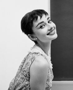 #Audrey Hepburn. Photographed by Mark Shaw, 1953.