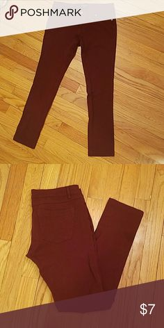Burgundy pant leggings Burgundy pant leggings! chocolate Pants Leggings