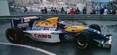 Canon Williams Team No.2 Alain PROST WILLIAMS FW15C RENAULT RS5 NA3.5L V10 Goodyear