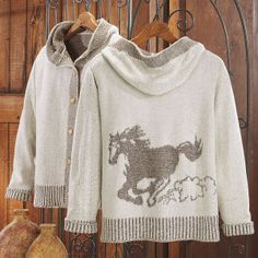 On The Run Hooded Cardigan - Western Wear, Equestrian Inspired Clothing, Jewelry, Home Décor, Gifts