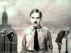 Charlie Chaplin - The Great Dictator Final Speech http://www.youtube.com/watch?v=EfHMvvy6kTY